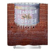 Ben Hur Coffee Shower Curtain
