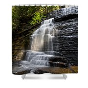 Benton Falls Shower Curtain