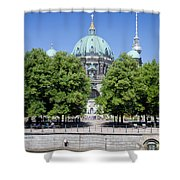Berlin Catherdral Shower Curtain