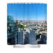Berlin Panorama Shower Curtain