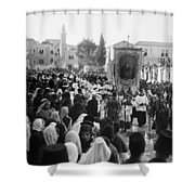 Bethlehem Christmas Shower Curtain