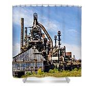 Bethlehem Steel Mill Shower Curtain