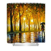 Bewitched Park Shower Curtain