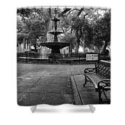 Bienville Square Shower Curtain