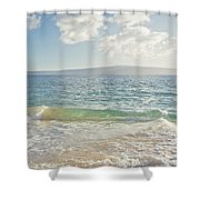 Big Beach Shower Curtain