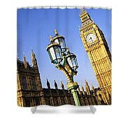 Big Ben And Palace Of Westminster Shower Curtain