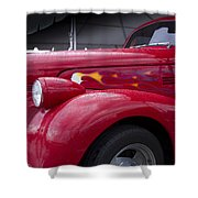 Big Red Two Shower Curtain