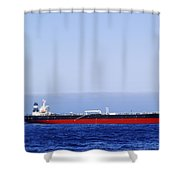 Big Ship Non Atlantic Ocean Shower Curtain