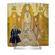 'billet Doux'  Shower Curtain