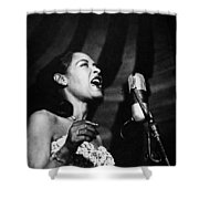 Billie Holiday (1915-1959) Shower Curtain by Granger