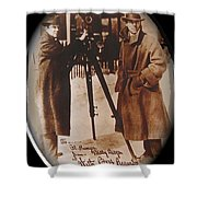 Billy Bitzer D.w. Griffith Pathe Camera Way Down East 1920-2013 Shower Curtain