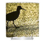 Bird Silhouette Shower Curtain
