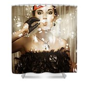 Birthday Celebration Shower Curtain