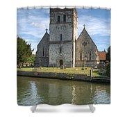 Bisham Church Shower Curtain