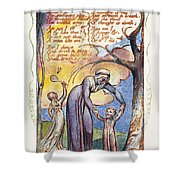 Blake: Songs Of Experience Shower Curtain
