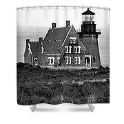 Block Island Southeast Shower Curtain