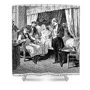 Blood Transfusion, 1874 Shower Curtain