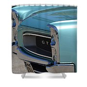 Blue Gto Shower Curtain
