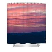 Blue Ridge Parkway Virginia Shower Curtain