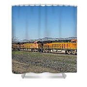 Bnsf 7199 Consist Shower Curtain