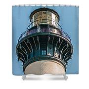 Bodie Island Lighthouse Obx Cape Hatteras North Carolina Shower Curtain