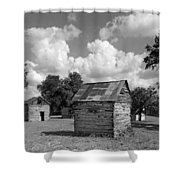 Bohls Cabins At Bee Cave Shower Curtain