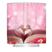 Book Love Shower Curtain
