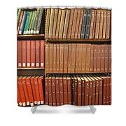 Bookshelves Shower Curtain