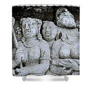 Borobudur  Shower Curtain
