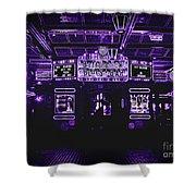 Bottleneck Blues Bar Shower Curtain