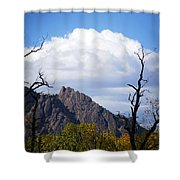 Boulder Flatirons 1 Shower Curtain