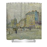 Boulevard De Clichy Shower Curtain