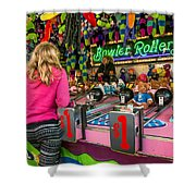 Bowler Roller Shower Curtain