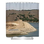 Bradbury Dam Shower Curtain