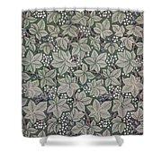 Bramble Wallpaper Design Shower Curtain