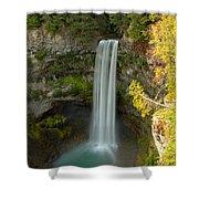Brandywine Falls British Columbia Shower Curtain
