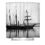 Brazilian Steamship, 1863 Shower Curtain