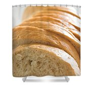 Bread Shower Curtain