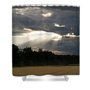 Breaking Storm Shower Curtain