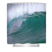 Breaking Wave North Shore Hawaii Shower Curtain