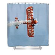 Breitling Wingwalkers Team Shower Curtain