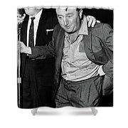Brendan Behan (1923-1964) Shower Curtain
