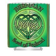 Brennan Soul Of Ireland Shower Curtain
