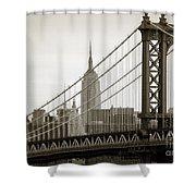 Bridge From The Bridge Shower Curtain