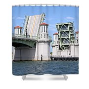 Bridge Of Lions St Augustine Florida Shower Curtain