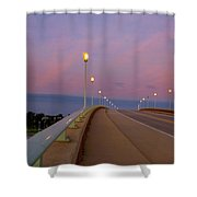 Bridge To The Moon Shower Curtain