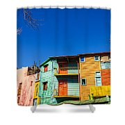 Bright Colors In Buenos Aires Shower Curtain