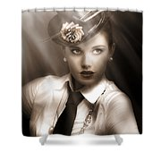 Bright Lights Of Broadway Shower Curtain