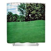 Brookhill Golf Course Shower Curtain