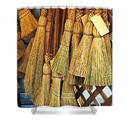 Brooms For Sale Shower Curtain